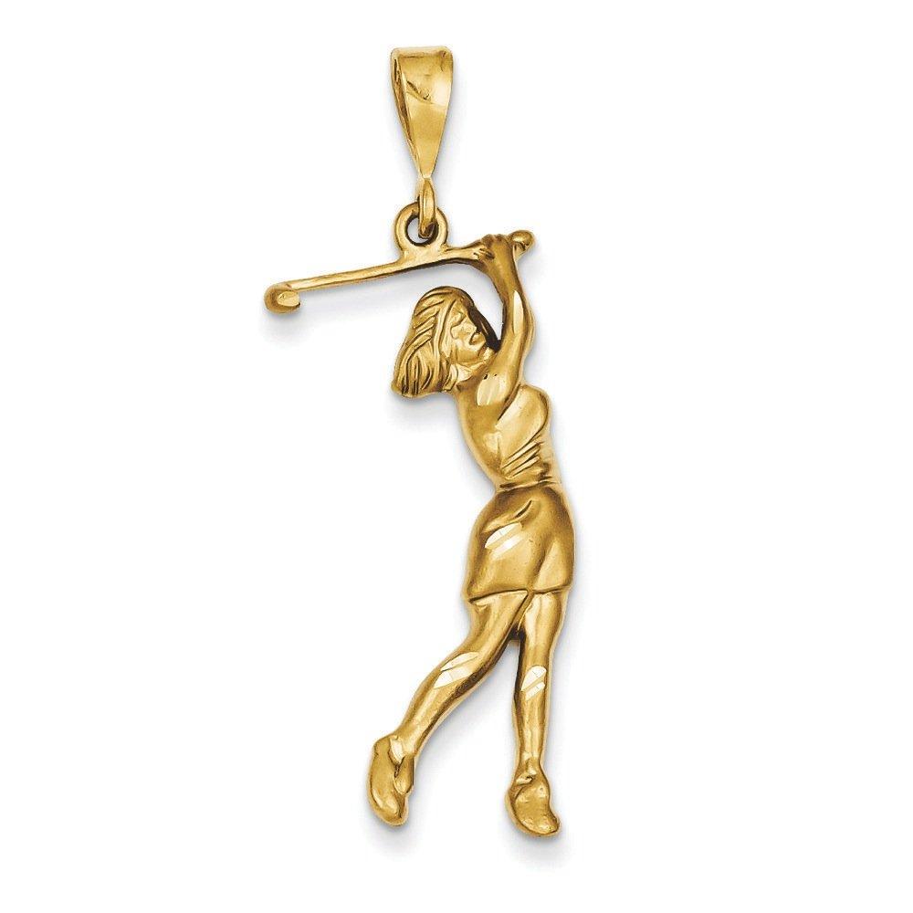 coachwendystevens.com 14k Female Golfer Pendant Men Clothing ...