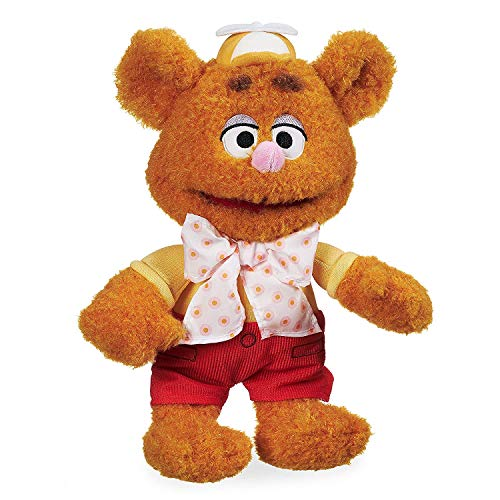 Disney Fozzie Bear Plush - Muppet Babies - Small