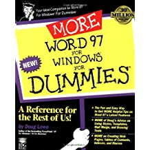 MORE Word 97 for Windows For Dummies