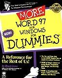 Word 97 for Windows, Doug Lowe, 0764501372