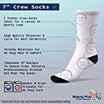 Funny Mens Socks Alano Espanol Dog Breed Style A Polyester Crazy Socks Womens 6