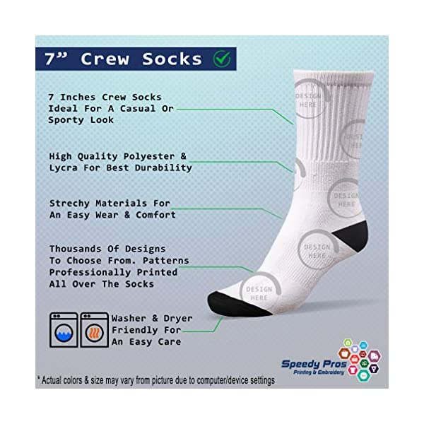 Funny Mens Socks Akbash Dog Breed Style A Polyester Crazy Socks Womens 2