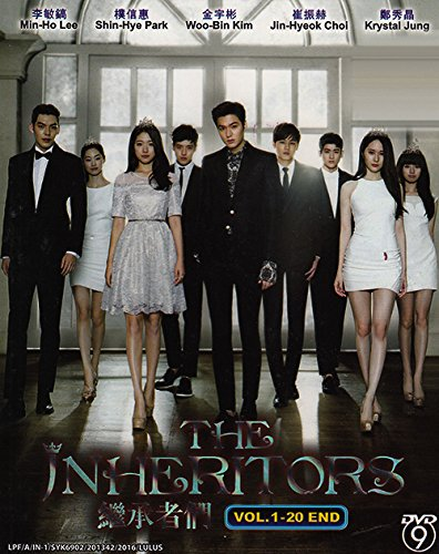 The Inheritors - The Heirs (3-DVD Set, English Subtitle) (The Heir Korean Drama Lee Min Ho)