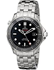 Omega Mens 212.30.41.20.01.003 Seamaster Black Dial Watch