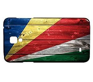 Funda Carcasa para Galaxy S4 Mini Bandera SEYCHELLES 02