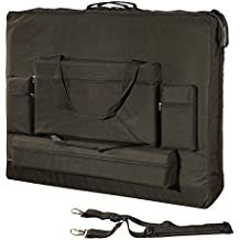 Royal Massage Deluxe Black Universal Oversized Massage Table Carry Case - 30""