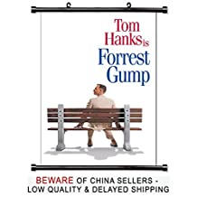 Forrest Gump Tom Hanks Movie Fabric Wall Scroll Poster (32x48) Inches