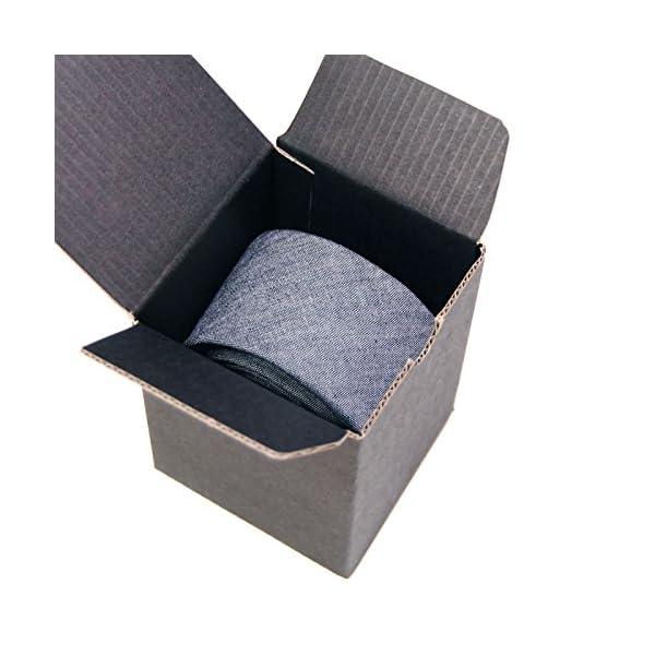 Jnjstella-Mens-Cotton-Solid-Necktie-Classic-Tie