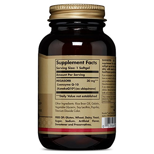 Solgar - Megasorb CoQ-10 30 mg Softgels  120 Count