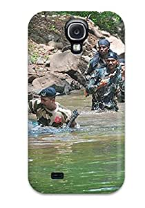 Galaxy S4 Case Bumper Tpu Skin Cover For Indian Army Accessories