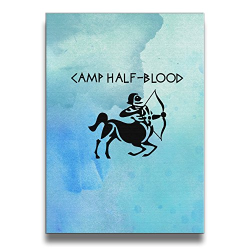Bekey Camp Half-Blood Canvas Prints Artwork For Home Office Decorations Wall Decor For Living ()