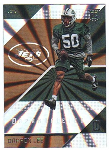 160 Rookie Football Card - 2016 Panini Unparalleled #160 Darron Lee New York Jets Rookie Football Card