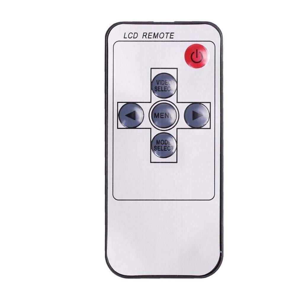 Elenxs 7 TFT LCD a Color de Pantalla Espejo retrovisor de Coche Universal c/ámara Vista Posterior Auto CAM Aparcamiento