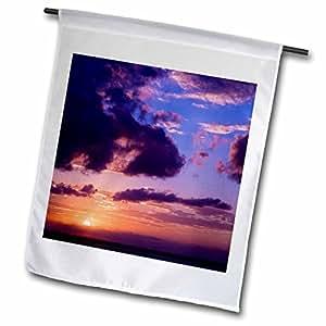 Danita Delimont - Sunrises - Mexico, Quintana Roo, Cancun, Caribbean Sea - SA13 RBI0105 - Randa Bishop - 12 x 18 inch Garden Flag (fl_86759_1)