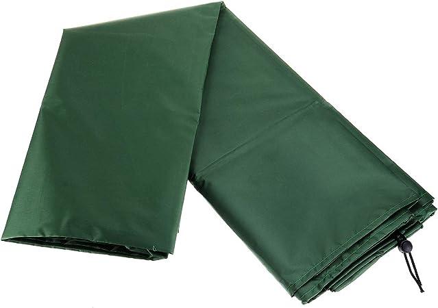 Divano Verde 123x61x72cm Reclinabile Sedie ESSORT Copertura della Mobilia da Giardino Impermeabile Telo Impermeabile Copertura Protettiva per Tavolo