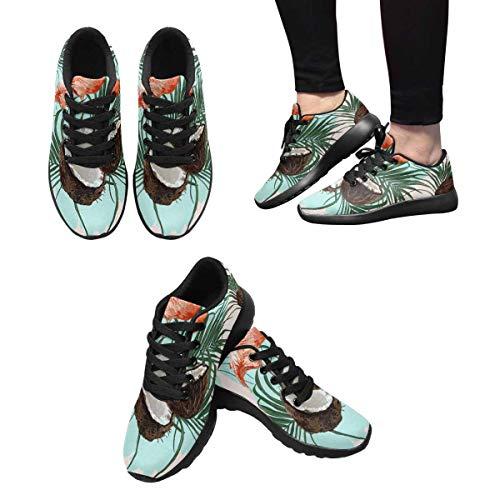 1 Women's Sneaker InterestPrint Running Custom Design HpBAX