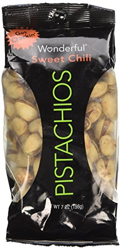 - Everybody's Nuts Sweet Chili Pistachios 7oz (2 Bags)