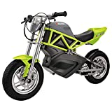 Razor RSF650 Teenage 12 Inch Rechargeable 12 Volt Battery Motorcycle Bike, Green