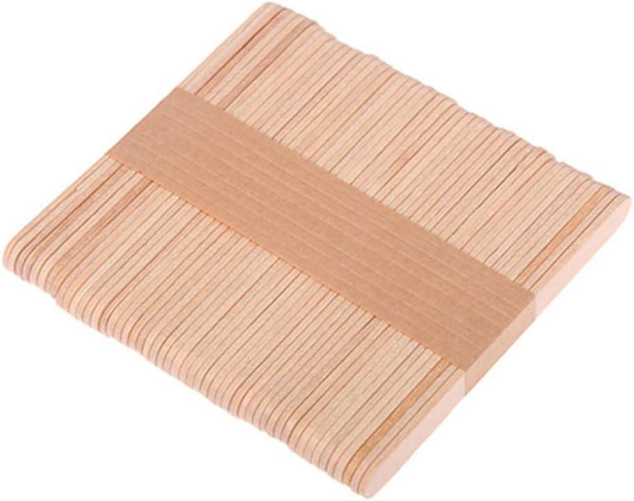 Egurs Holzst/äbchen,Eisstiele,DIY Craft Basteln Sticks,100 St/ück,