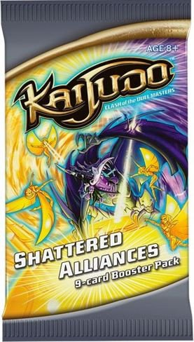 (Kaijudo Trading Card Game SHATTERED ALLIANCES Booster PACK )