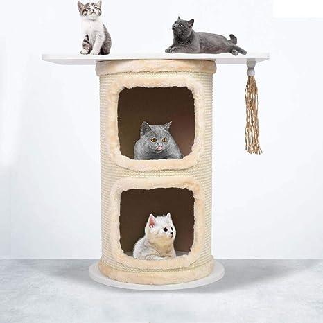 Axiba Árbol para Gatos,Gato Mesa árbol Gato Muebles Gato del ...