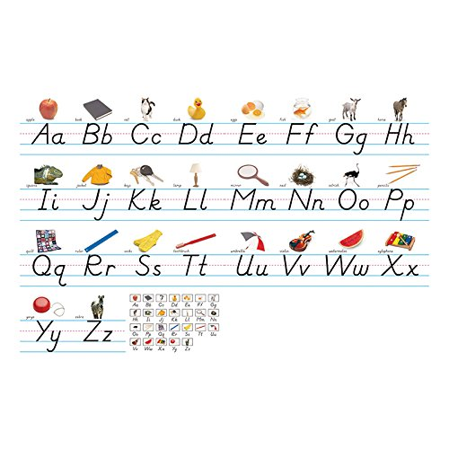 NORTH STAR TEACHER RESOURCE Modern Manuscript Alphabet Lines Bulletin Board Set
