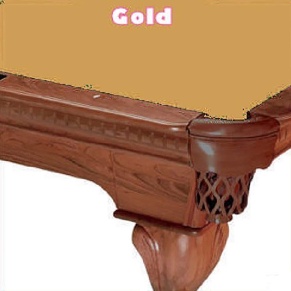 9 Simonis 760 Gold Billiard Pool Table Cloth Felt