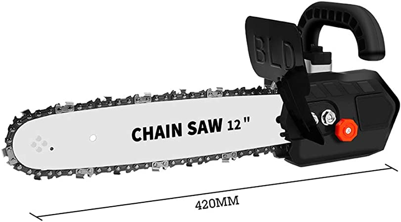 12 pulgadas Soporte de motosierra Cambiar amoladora angular a motosierra con Sistema autom/ático de lubricaci/ón de cadena para amoladora angular