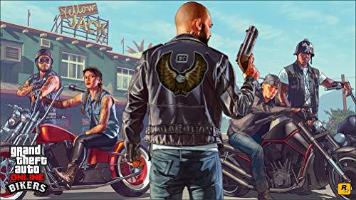 Innerwallz GTA 5 Men Pistols Online Bikers Motorcycles Wall Art, Pop Art, Poster, Art Prints | Rare Posters