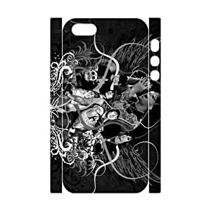 3D Print Pop Alternative metal band&Avenged Sevenfold Case Cover for iPhone 5/5S- Personalized Cell Phone Protective Hard case Shell