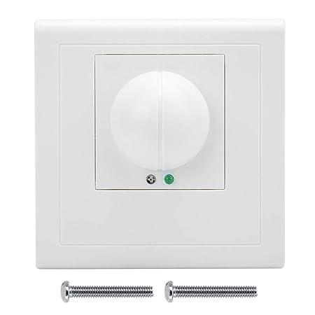 Wifehelper Interruptor de Control de luz con Sensor de microondas ...
