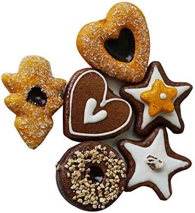 ZJL220 Maison De Poup/ée Miniature Accessoires Mini Dessert Cookies Biscuits Simulation Mod/èle De Nourriture pour Maison De Poup/ée D/écoration Livraison Al/éatoire