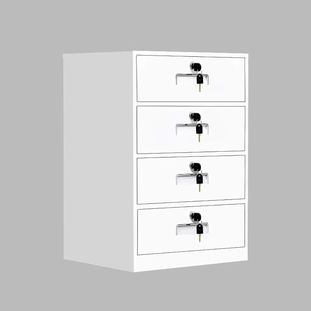 QSJY File Cabinets Disassembly Fireproof and Durable Large Space with Lock Metal Locker Compartment Design Storage Protection Important documents 443965cm (Color : A)