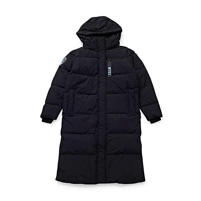 check out b0578 0005e BT21 Official Merchandise by Line Friends - Character Down Parka Jacket  Winter Coat