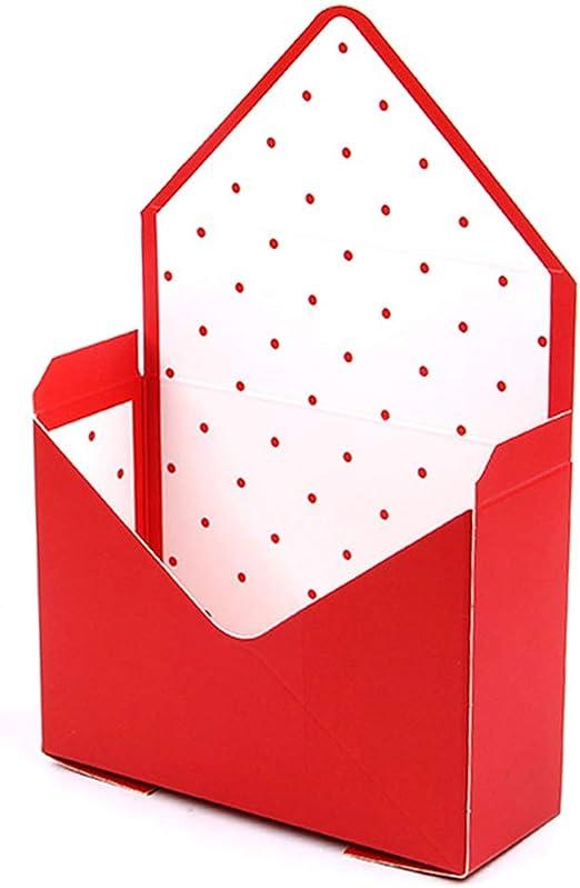 Caja de almacenamiento de flores con sobres creativos para bodas ...