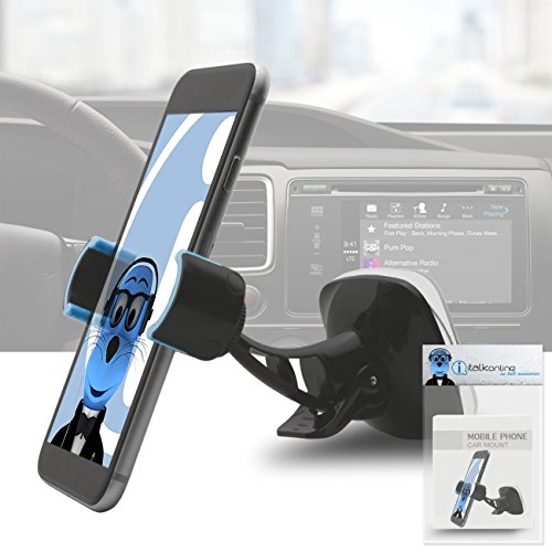 Price comparison product image Grip Pro Case Compatible 360 Degrees Multi Angle Car Mount Holder Windshield 51mm - 88mm for Huawei P10 Lite
