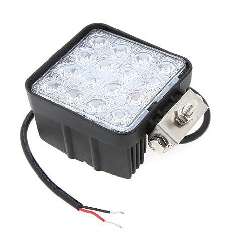 12 St/ück 48W LED Offroad Arbeitsscheinwerfer wei/ß 12V 24V 4560 Lumen Flutlicht Reflektor worklight Scheinwerfer Arbeitslicht SUV UTV ATV Arbeitslampe Traktor Bagger