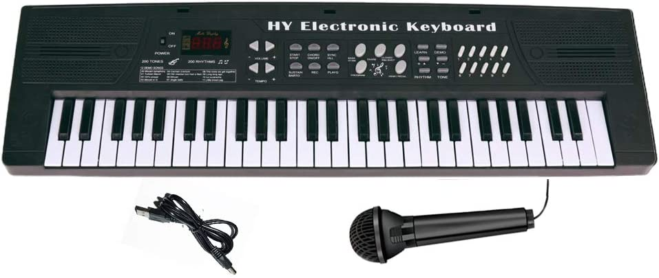 Piano de teclado para niños, piano para niños, 54 teclas ...