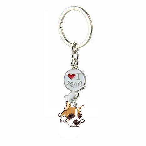 Arbre - Llavero con forma de perro pequeño para amante de ...
