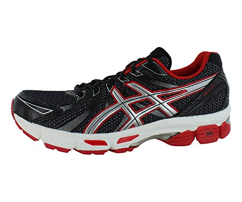 ASICS Men's GEL-Exalt Running Shoe,Carbon/White/Red Pepper,10.5 M US