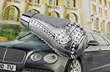 bling automatic gear shift knob - Bling Crystal Diamond Rhinestone Shift Knob Manual Automatic BUTTON-LESS Operated Shifter Universal Fit CarTruck SUV