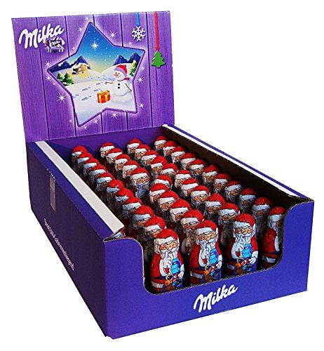 Milka Mini Chocolate Santa 15g (pack of 55)
