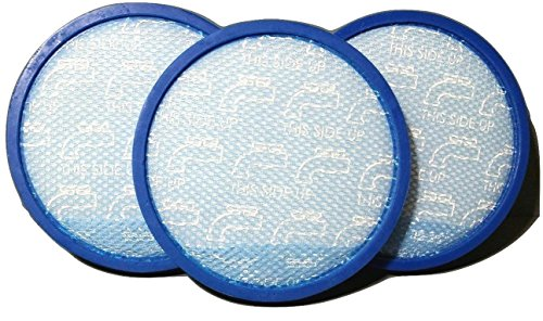 (Hoover 304087001 WindTunnel Max Mult-Cyclonic Bagless Upright Washable Primary Blue Sponge Filter - Genuine Hoover Filter. (3))