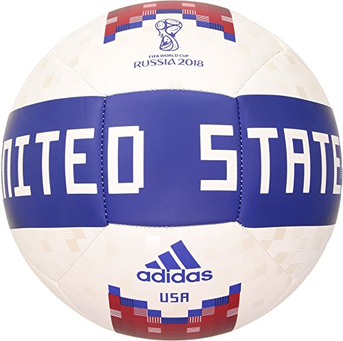 World Cup Soccer Official Licensed Product Usa Ball, Size 5, White/Collegiate Green/Red
