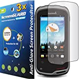 "3x Garmin Zumo 590 590LM 595 595LM 5.0"" GPS Premium Anti-Glare Anti-Fingerprint Matte Finishing LCD Screen Protector Cover Guard Shield Protective Film Kits"