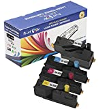 PrintOxe™ Compatible Set of Toners for Xerox 6020 / 6022 Compete Set ; Black, Cyan Magenta, & Yellow - 4 High Yield of 2,000 Pages per BK & 1,000 Pages per Coloured for Printer Models: Phaser 6020 & 6022 and WorkCentre 6025 & 6027