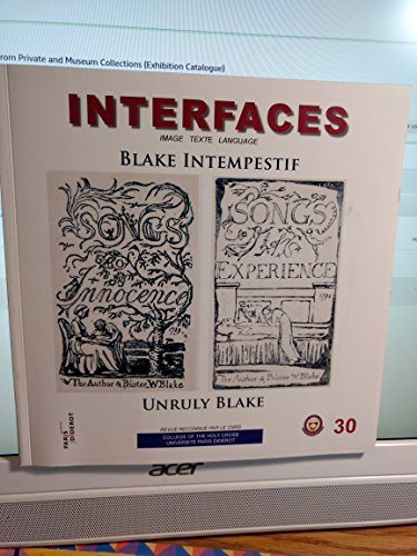 Blake Intempestif/unruly Blake