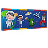 Little Baby Bum Outer Space Kids Room Canvas Decor