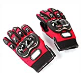 Red Motorcycle Accessories Pro-Bike Parts Motocross Racing Protection Sports Adjustable Gloves Size XXL Fit For Honda VF750S SABRE 1982-1986