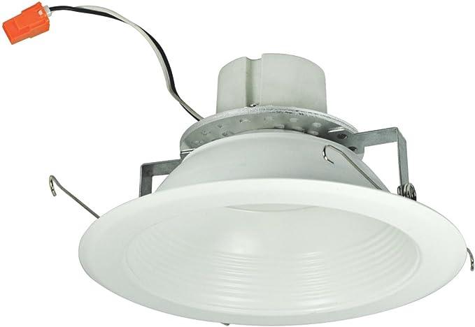 nora lighting nlcbc 65230ww retrofit baffletrim cobalt led 16 watt 6 inch aperture white